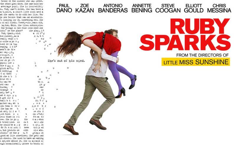 پوستر فیلم روبی اسپارکز، ساخته زو کازان ۲۰۱۲