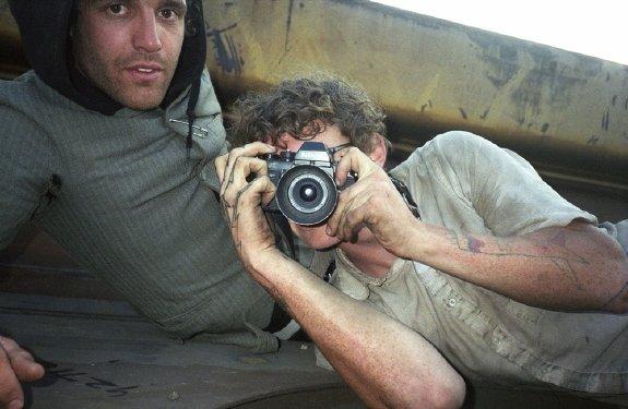 Mike Brodie selfie