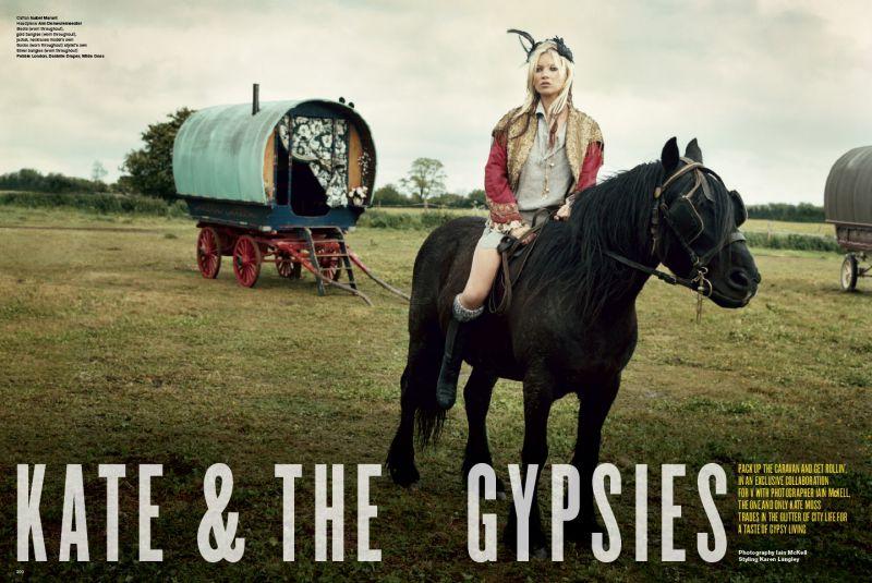 Kate Moss & The  Gypsies